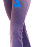 """Yoga Capri's With 3"""" Twill Sewn on Greek Letters on Front Left Leg"""